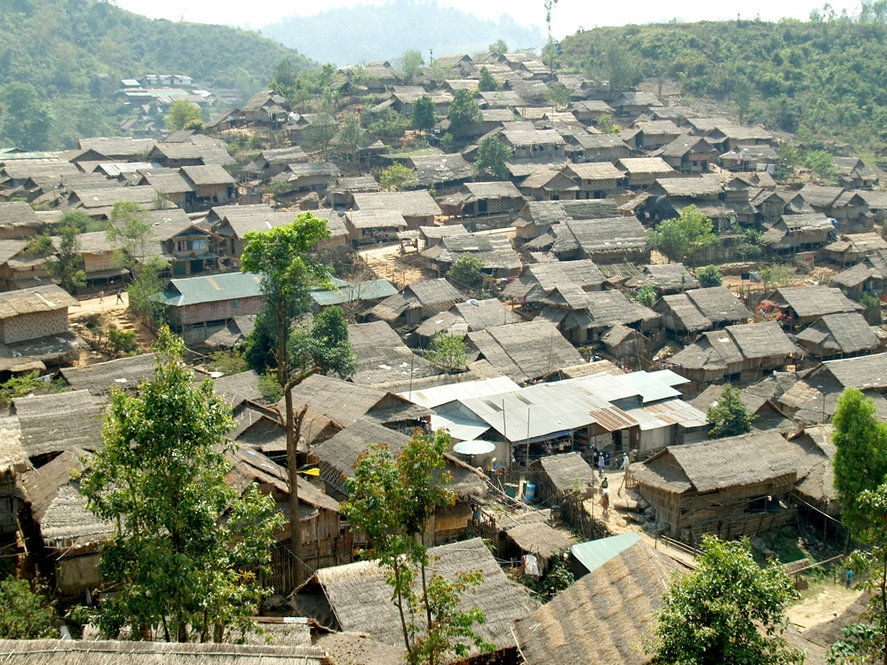 Refugiados de Myanmar en China